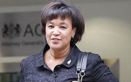 Baroness Scotland make a trivial mistake