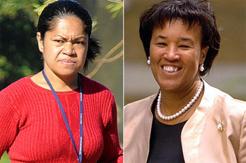 Baroness Scotland and her nemisis