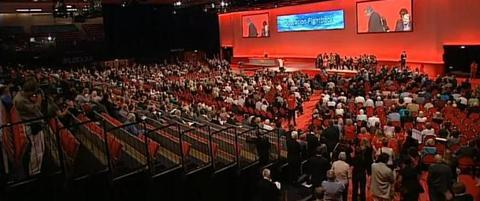 Gordon Brown gets the support of Labour believers