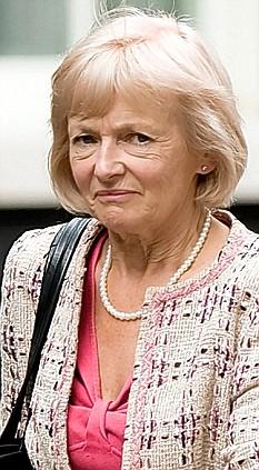 Glenys Kinnock downgraded