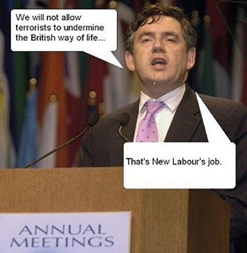 The toxic Gordon Brown made Labour more than ever Hazardous waste
