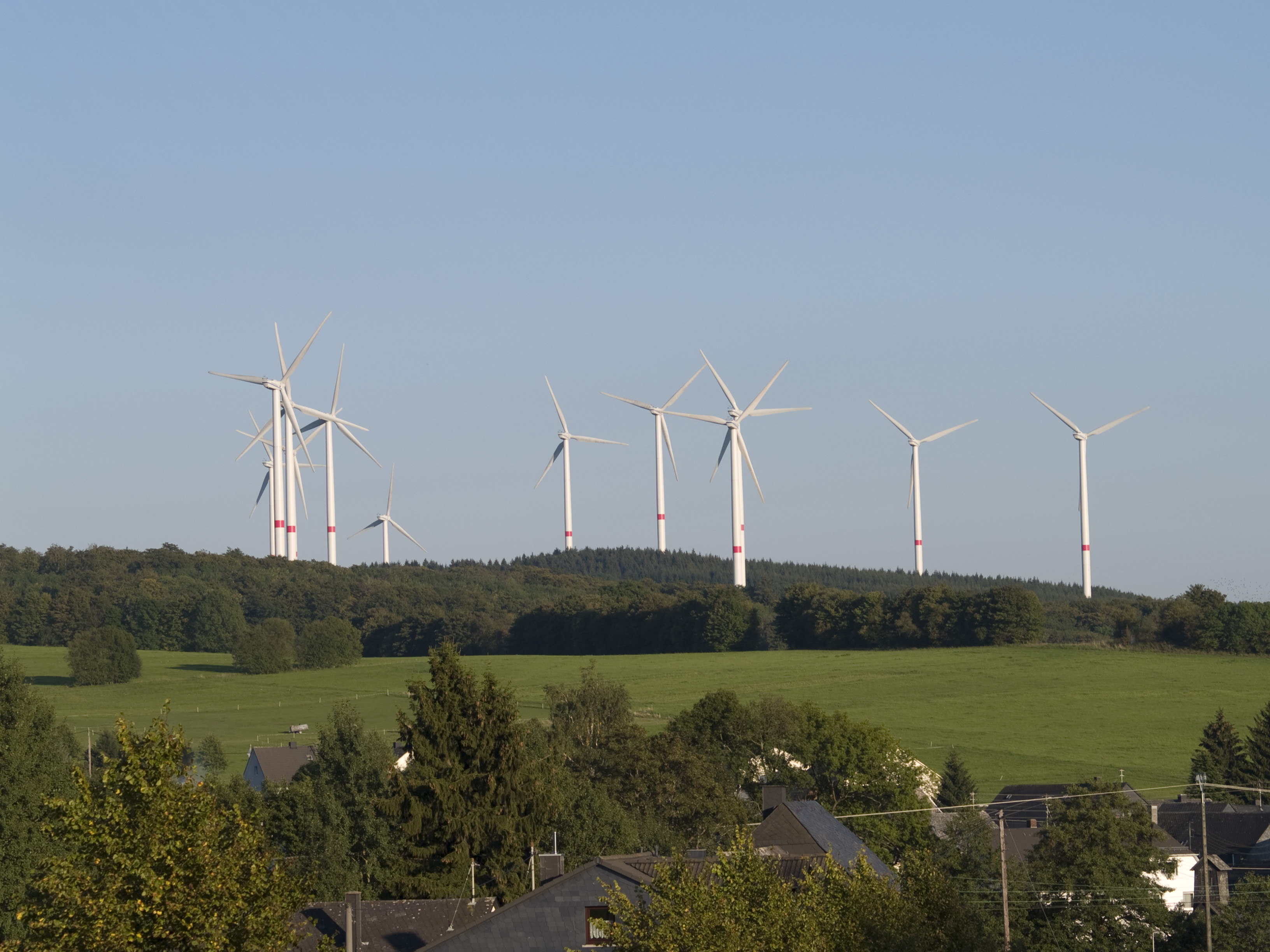 Wind Farm in the Rhineland Palatinate