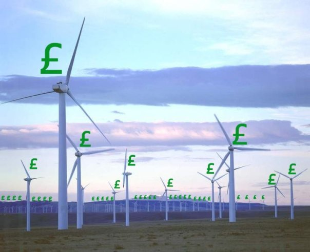 Every job in Britain's Wind Farm industry is subsidised to the tune of £100,000 every year.