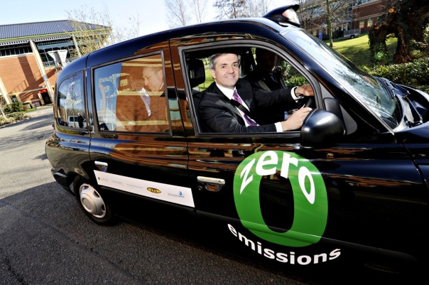 The electric car being promoted as zero emissions by Britain's disgraced former Climate Change Secretary Chris Huhne. Electric cars are like Chris Huhne have a zero future.