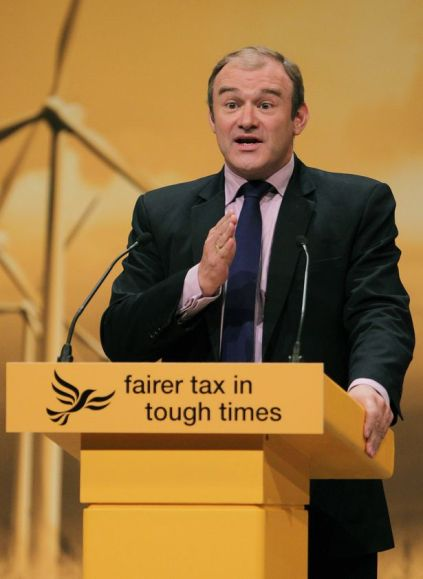 Liberal Democrat Climate Fool Ed Davey believes that Climate Science if irrefutable.