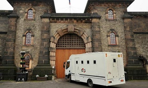 Former  Liberal Democrat Climate Change Secretary and common criminal Christopher Murray Paul-Huhne arrives at his new home for the next few months,  Wandsworth jail