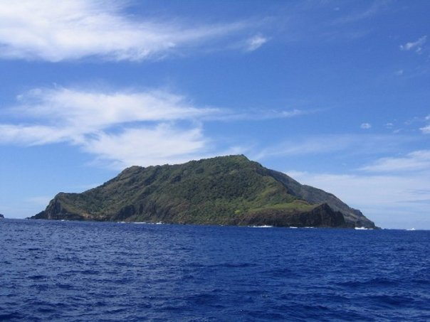 Pitcairn Island in the South Pacific where the mutineers from the Bounty setteled