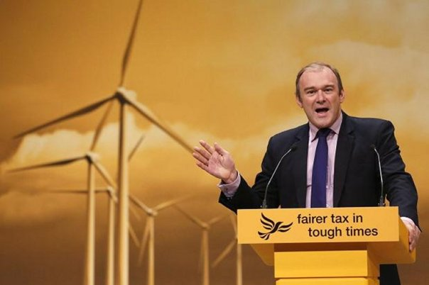 """The evidence supporting man made climate change is so strong, and irrefutable that I demand all newspapers stop printing evidence to the contrary"" Ed Davey Liberal Democrat"
