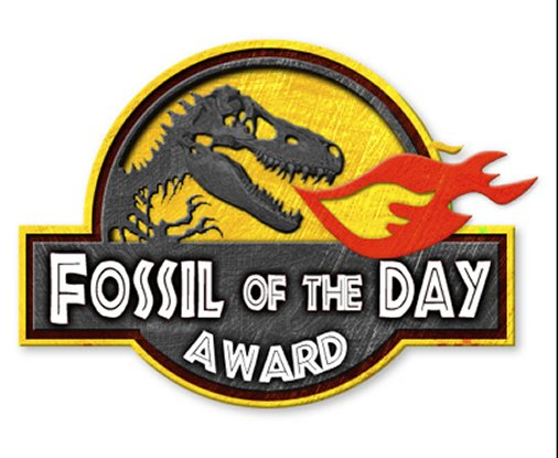 The Fossil of the Day award presented at UNFCCC COP meetings by the Climate Action Network to countries that have failed to adopt Climate Religion as fiscal and political agendas.