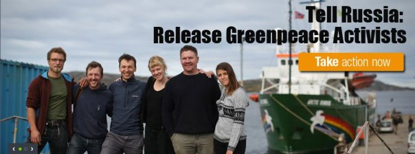 All Greenpeace activists on the Arctic Sunrise have been charged with piracy by the Russians.