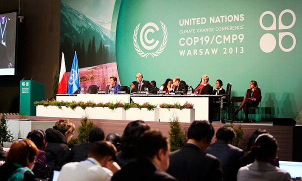 Green propaganda admits that COP19 has stalled, which is Greenwash for crashed and burned