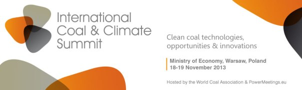 Hosting an international conference on coal at the same time as COP19, no doubt about it the Poles have a great sense of irony.