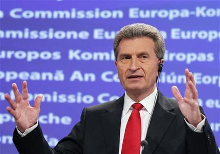 "European Energy Commissioner Günther Oettinger - ""It is becoming increasingly questionable whether our pioneering activities can be financed when the rest of the world does not follow suit"""