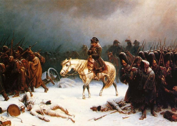 Polar Vortex was cause of the bitter winter of 1812 which hindered Napoleon's long retreat from Russia. Now 200 years later Napoleon's successors, the EU are in full retreat on their Climate Policy.