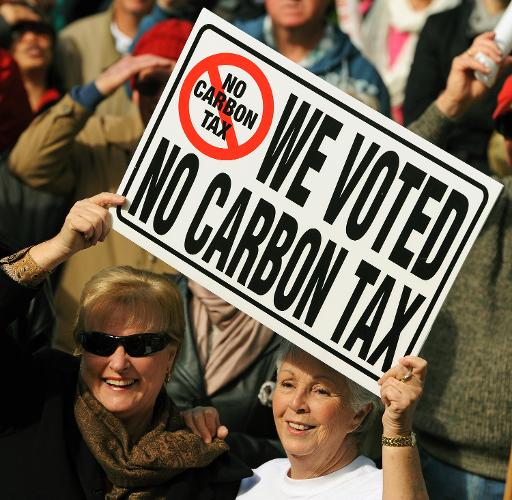Much to the outrage of the global Green and warming alarmist cabal, Australian voters have been heard and Julia Gillard's carbon tax consigned to the dumpster of history.