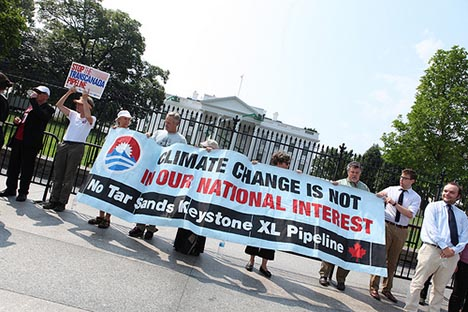 While Obama dithers on approving the Keystone XL pipeline Big Green has produced a new report claiming that the pipeline's carbon emissions could four times more than previously thought.